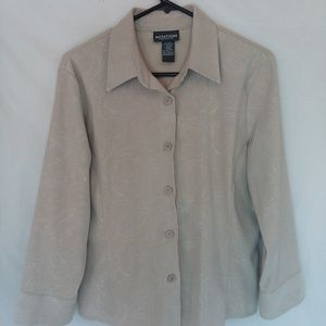 button front shirt womens size small